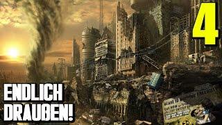 Fallout 4 Gameplay German #4 ENDLICH (?) DRAUßEN |  Let