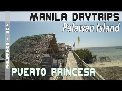 Puerto Princesa Palawan Philippines City tour and resort | Asia Travel VLOG