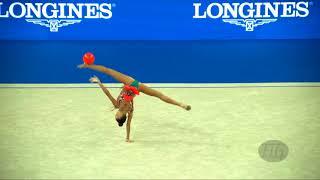 AVERINA Arina (RUS) - 2017 Rhythmic Worlds, Pesaro (ITA) - Qualifications Ball