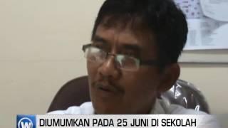 Hasil Unas SD Diumumkan Pada 25 Juni