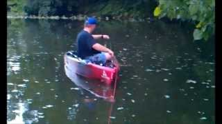 kayak bassin with friends in kentucky