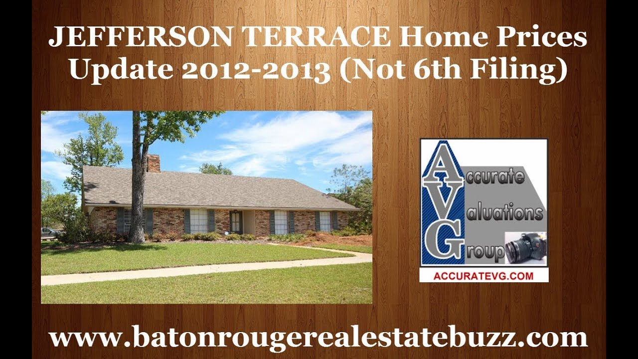 Jefferson terrace subdivision home prices update baton for Where can i watch terrace house