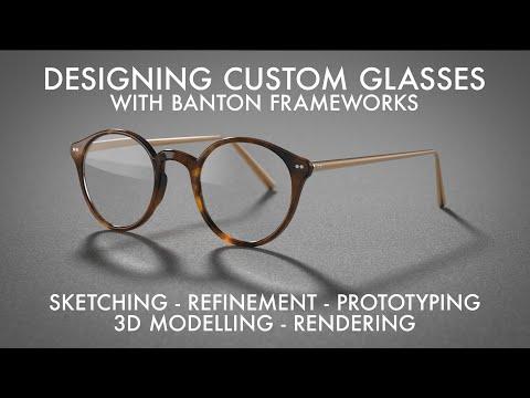 Glasses Design: My Own Custom Frames!