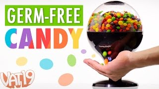 Candy Magic Dispenses Germ-free Candy