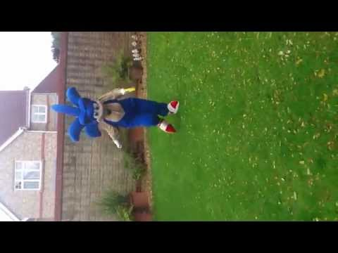 Sonic The Hedgehog motion test