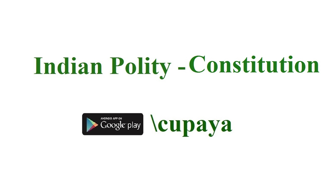 Indian Polity - Constitution, IAS,IPS,TNPSC,SSC - Tamil