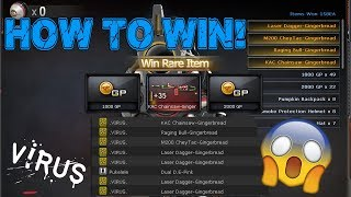 How to win in the Black Market like .VIRUS.