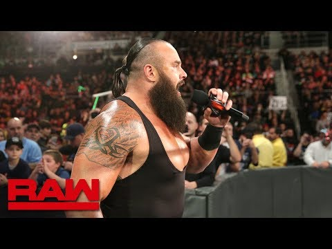 Braun Strowman interrupts Paul Heyman en route to WWE Crown Jewel: Raw, Oct. 22, 2018