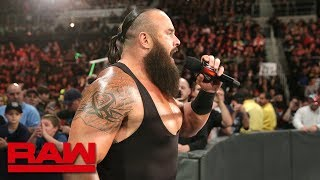 Braun Strowman interrupts Paul Heyman en route to WWE Crown Jewel: Raw, Oct. 22, 2018