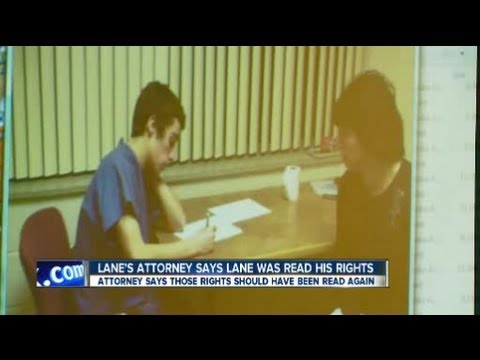 TJ Lane's Attorney Wants Confession Tossed Out