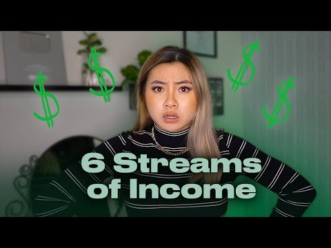 MY 6 STREAMS OF INCOME: How I Make Money At 18