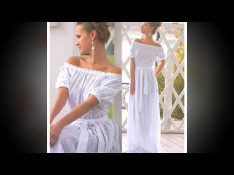 летнее платье в пол фото