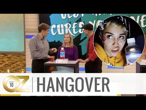 Ken Payne - Best Hangover Cures You Haven't Tried From Dr. Oz