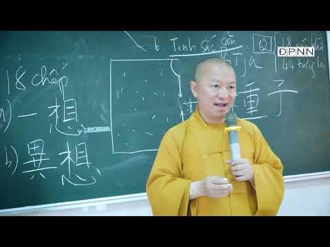 HẠT GIỐNG VÀ TÍNH CÁCH CON NGƯỜI   Thành duy thức luận 2021  Bài 8   TT. Thích Nhật Từ