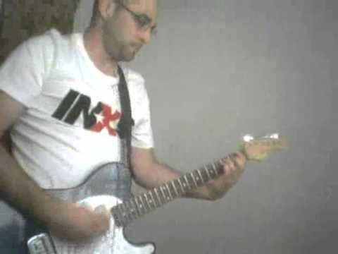INXS - Hot Girls (guitar cover)