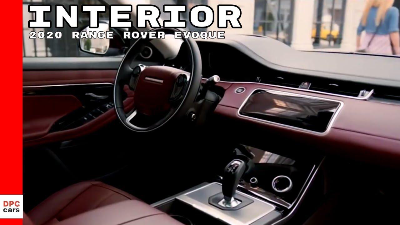 2020 Range Rover Evoque Interior Youtube
