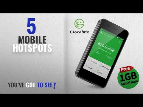 Mobile Hotspots [2018 Best Sellers]: GlocalMe G3 4G LTE Mobile Hotspot, [Upgraded Version] Worldwide