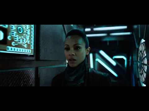 Star Trek Into Darkness - Uhura Approaches The Klingons