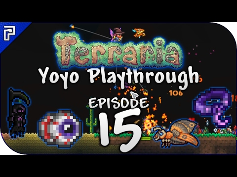 Terraria 1.3.4 Let's Play | The Event Of Solar Proportions! | Yoyo Playthrough [Episode 15]