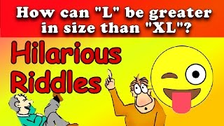 10 HILARIOUS RIDDLES TO TEST YOUR INTELLIGENCE & MAKE YOU LAUGH!!