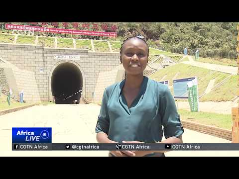 Chinese firm completes East Africa's longest railway tunnel in Kenya
