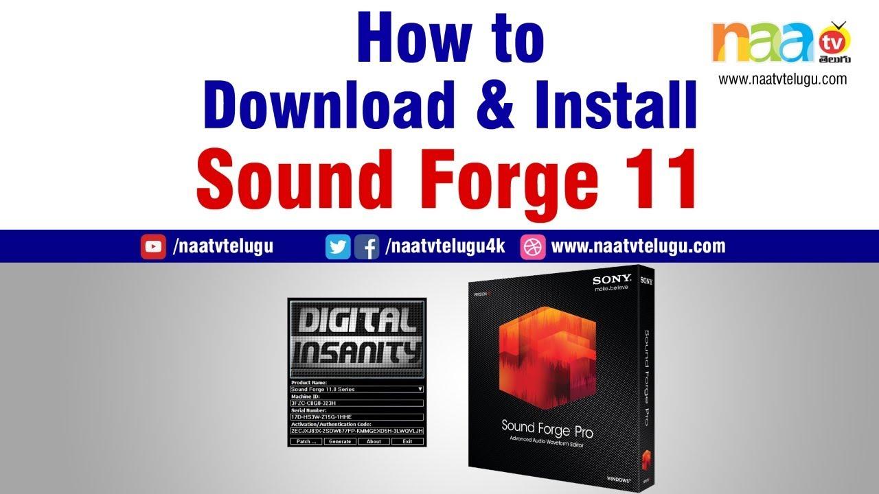 serial number sound forge pro 11 keygen