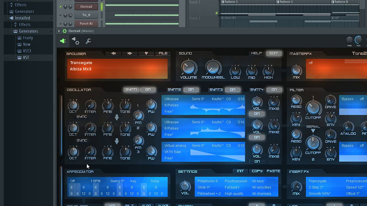 fl studio vst synth