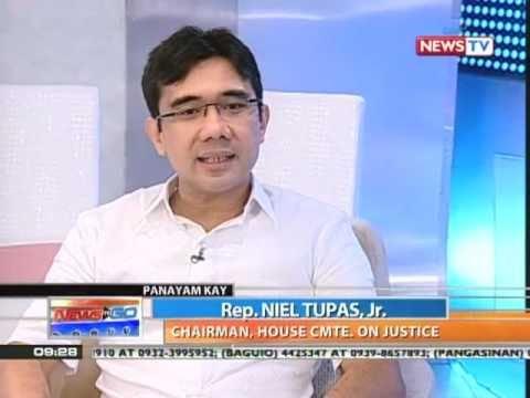 News to Go interview with Rep. Niel Tupas, Jr. on impeachment of Ombudsman Gutierrez  (03/07/2011)