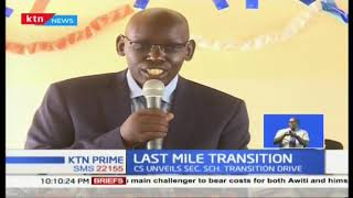 A week long nationwide campaign aimed at assuring 100% transition from primary to secondary school
