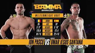 BAMMA 32: Ion Pascu vs Omar Jesus Santana