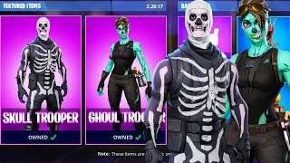 SKULL TROOPER and GHOUL TROOPER Returning to Fortnite!? Get OLD FREE SKINS in Fortnite Battle Royale