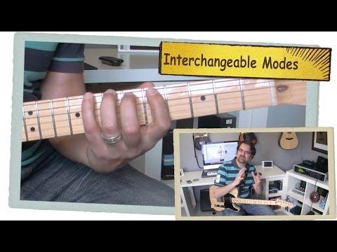 Interchangeable Guitar Modes
