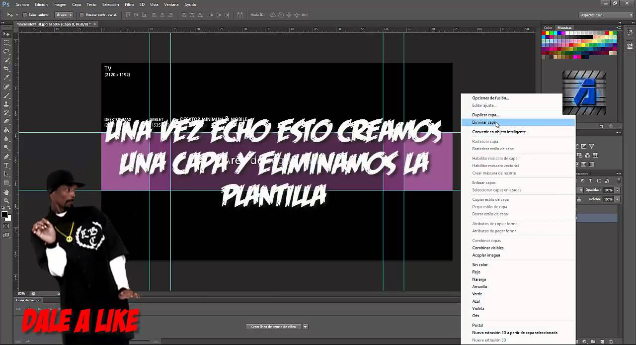 how to create a banner in photoshop cs6