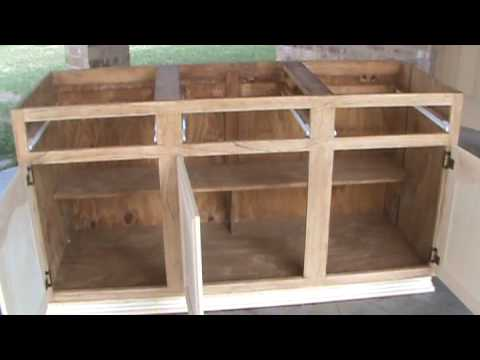 Construccion de gabinete youtube for Planos para cocina integral de madera