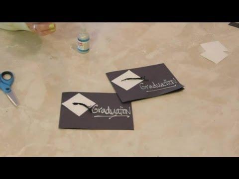 How to Make Graduation Invitation Cards  Valentine\u0027s Day Crafts - how to create graduation invitations