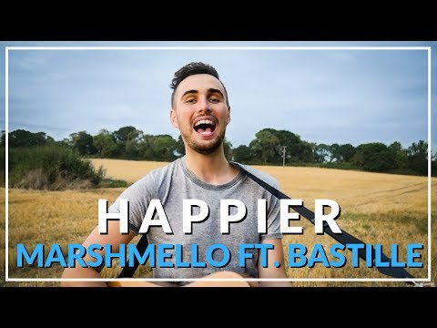 Happier - Marshmello ft. Bastille (Acoustic cover by Sam Biggs)