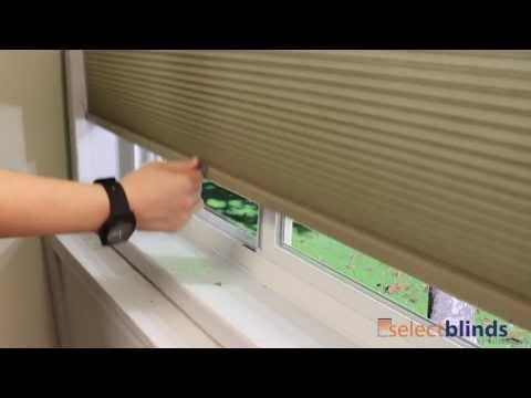 "3/8"" Double Cell Cordless Light Filtering Shades from SelectBlinds.com"