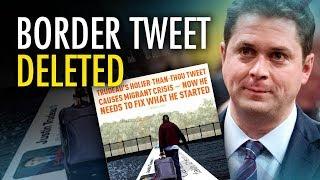 "Video Scheer caves on border security tweet mob deems ""racist""   David Menzies download MP3, 3GP, MP4, WEBM, AVI, FLV Juli 2018"