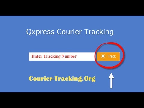 Qxpress Courier Tracking Guide