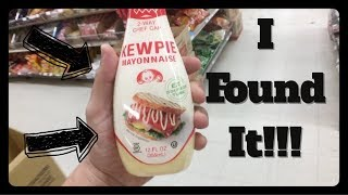 The Hunt for Kewpie Mayonnaise is OVER!!! Plus Chinese Sausage Taste Test!