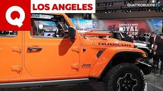 A Los Angeles la Jeep presenta il Gladiator