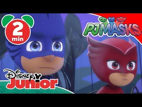PJ Masks  Luna And The Wolfies 🌙   Disney Junior UK
