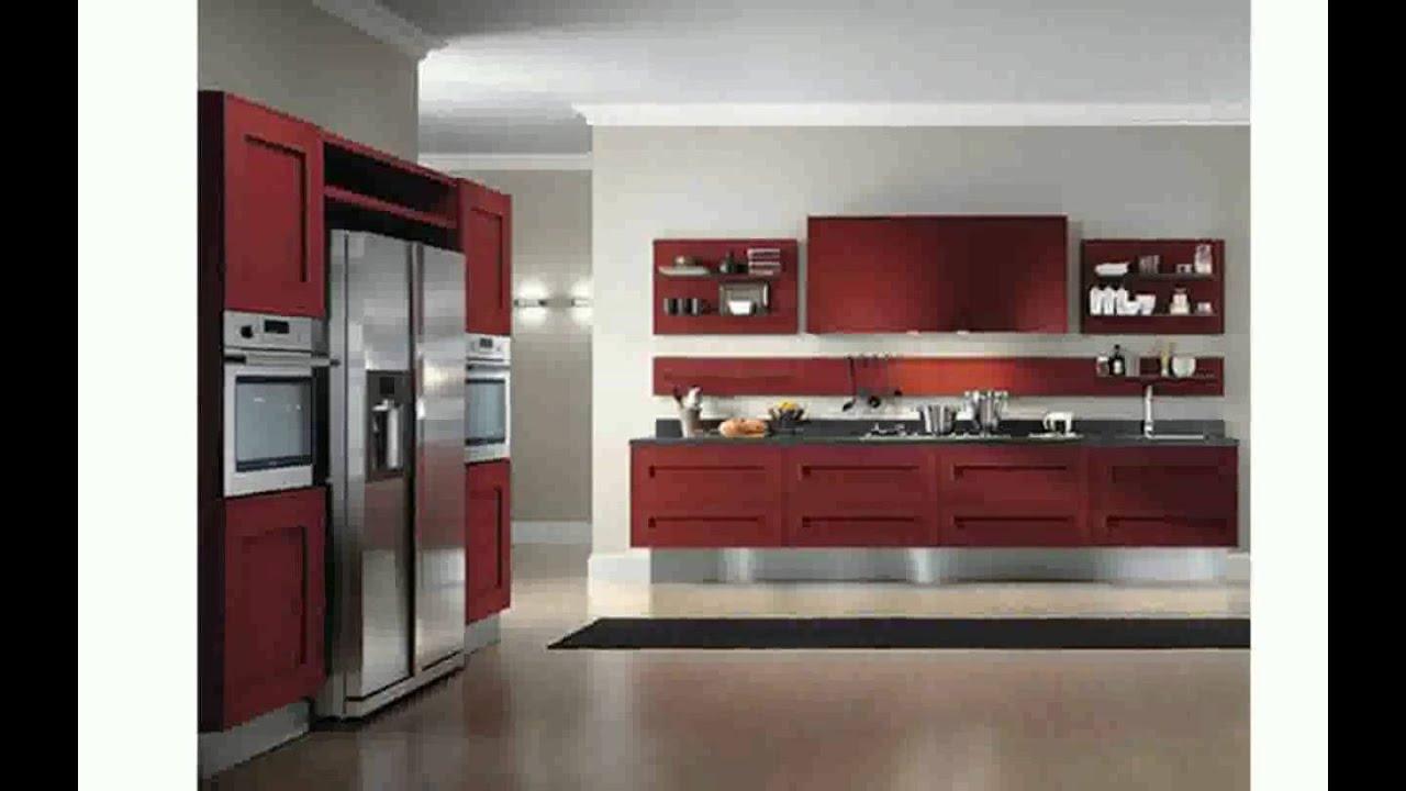 Cuisine Moderne Rouge Bordeaux Maison Moderne