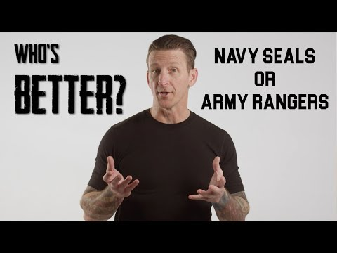 Who's Better? Navy SEALS Vs Army Rangers