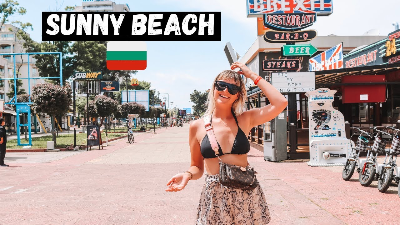 Sunny Beach, BULGARIA! The IBIZA of the Black Sea! (2021 Tour)