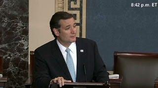 Cruz after talk-a-thon: 'I feel terrific'