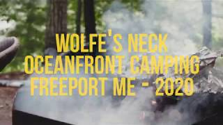 Camping at Wolfe's Nęck Oceanfront Camping | 2020