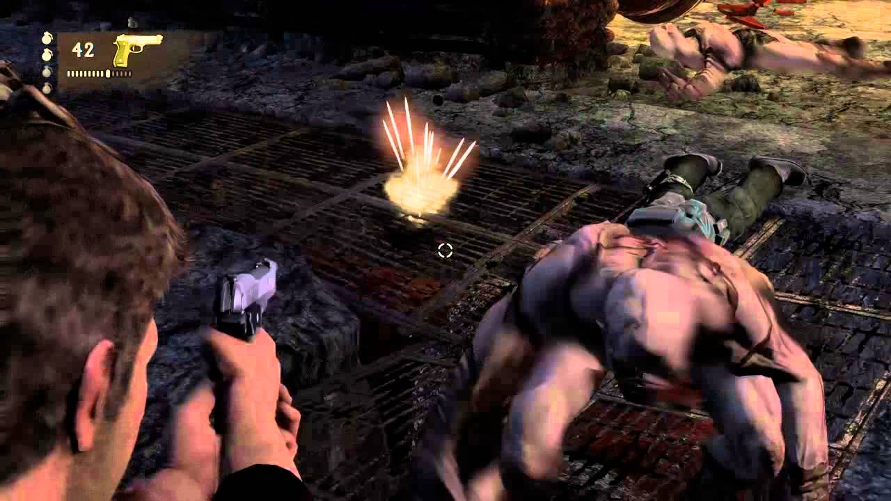 Uncharted 1 Me And My Enemies Vs Zombies Youtube