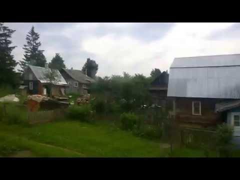 Еду в Александров. Виды из окна электрички. Дичковское озеро.