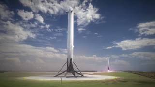 Baixar Falcon Heavy Launch Animation (Fly Me To The Moon)